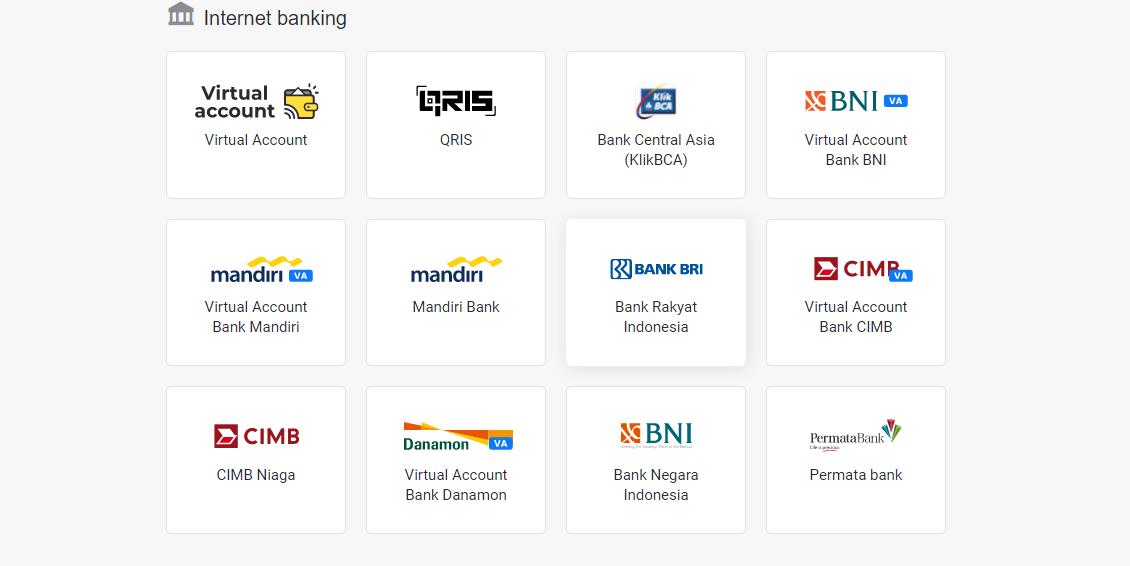 binomo indonesia internet banking